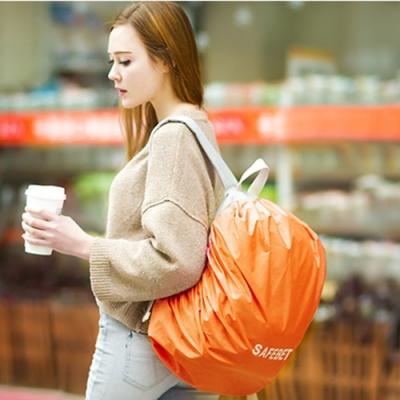 E.City_可攜式背包防水收納保護套