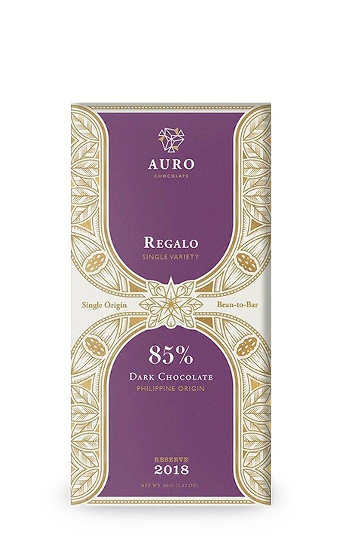 AURO 單一品種典藏 85% 黑巧克力 - 瑞加洛種