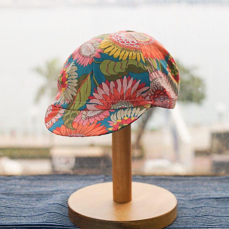 手工單車小帽   LIBERTY 英國印花布 香港本土品牌 手工製