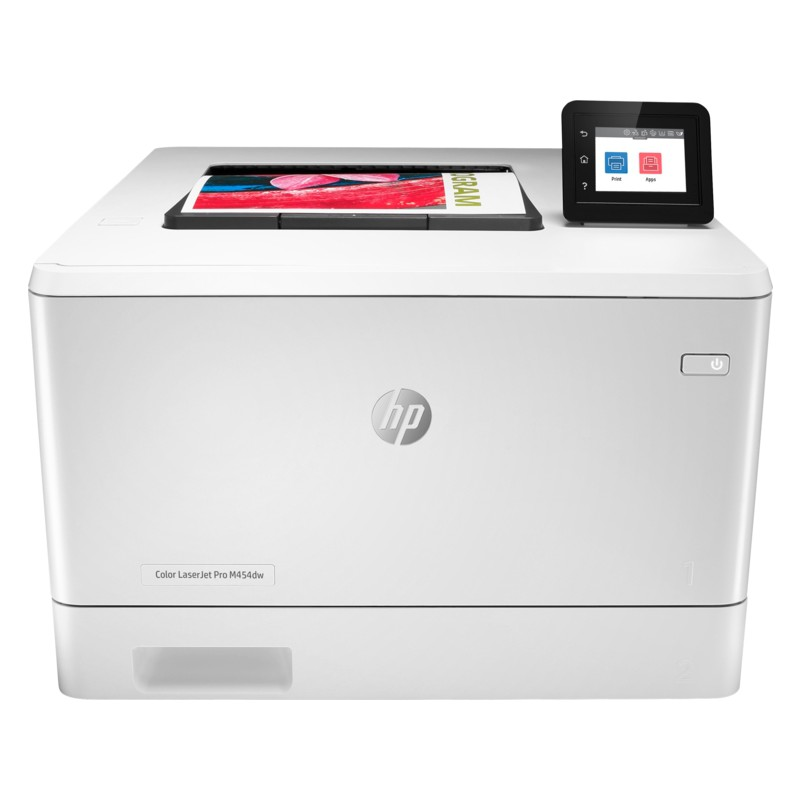 HP Color LaserJet Pro M454dw 無線自動雙面列印彩色雷射印表機 (W1Y45A)【含稅免運】