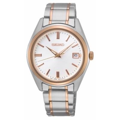SEIKO 簡約經典時尚腕錶6N42-00L0KS(SUR322P1)36mm