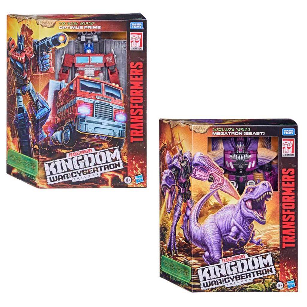 【孩之寶Hasbro】變形金剛 金剛世代系列 塞伯坦之戰 K無敵戰將組