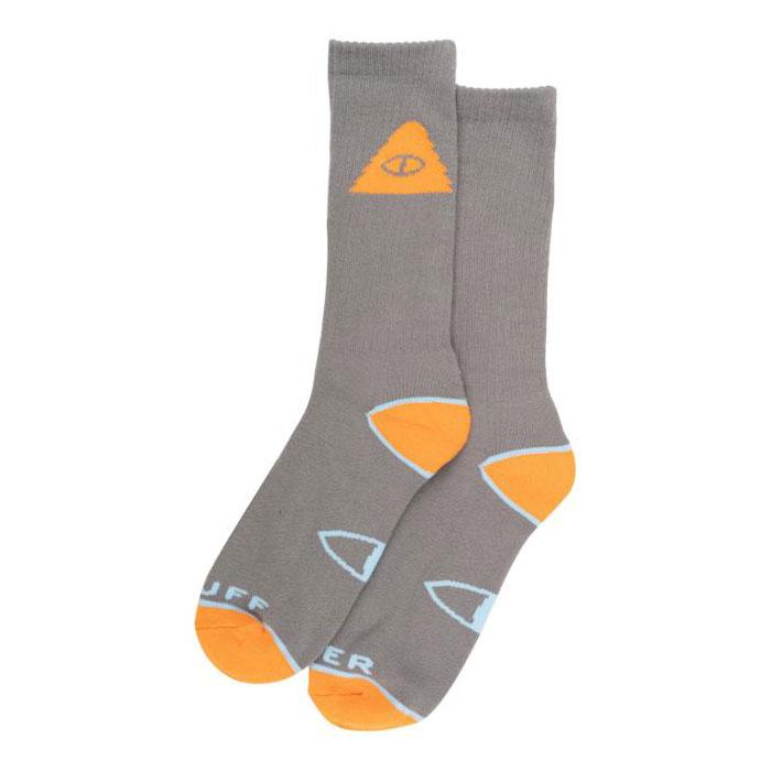 【POLAR STUFF】211ACUAC01 CYCLOPS ICON SOCK 中筒襪 / 小腿襪 (灰色)