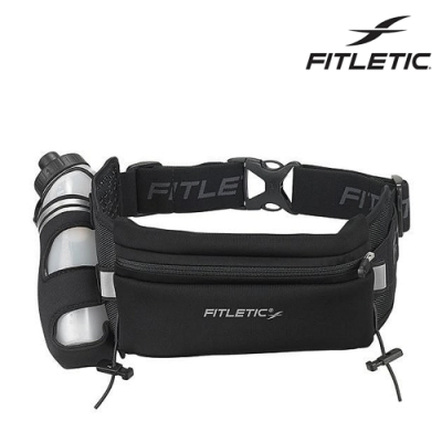Fitletic Fully Loaded Neoprene單水壺腰包 HD12G / 黑色
