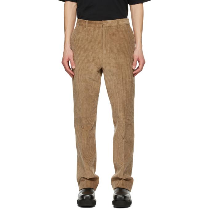 Acne Studios 黄褐色灯芯绒长裤