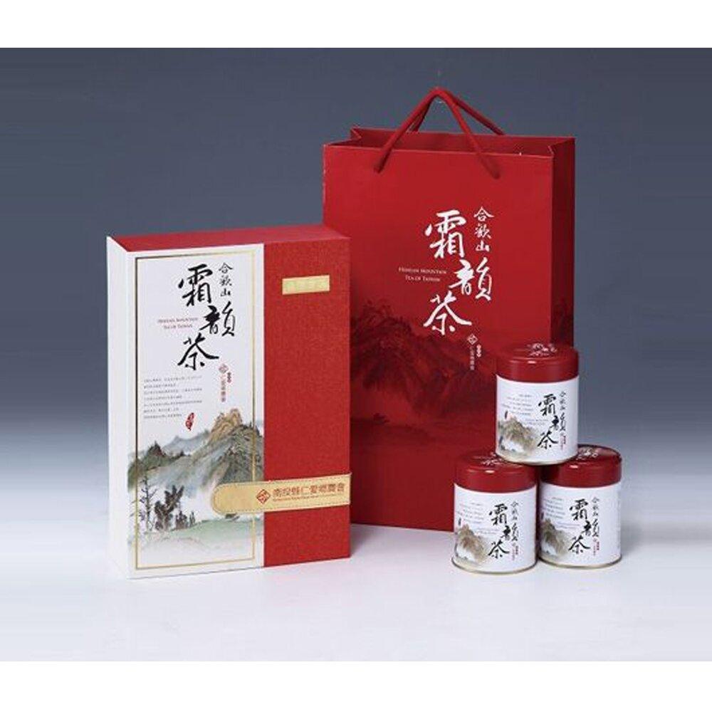 【仁愛農會】合歡山霜韻茶-75g-4罐-盒