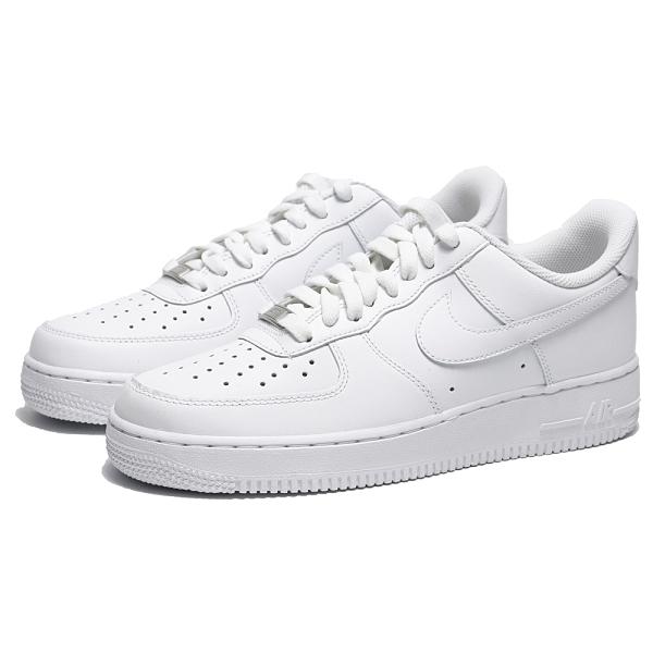 NIKE 休閒鞋 AF1 AIR FORCE 1 07 全白 基本款 經典款 男 (布魯克林) CW2288-111