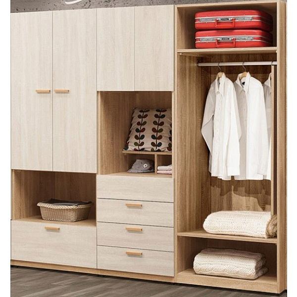 衣櫃 衣櫥 QW-043-456 葛瑞絲7尺衣櫃【大眾家居舘】