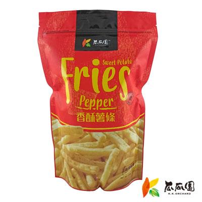 【超取下單限定】瓜瓜園香酥薯條(100g/包)