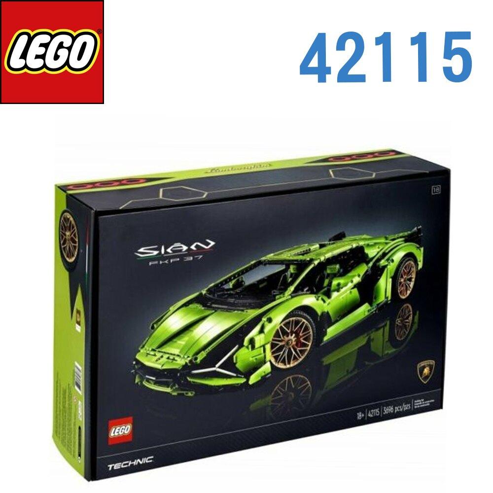 LEGO 樂高 科技系列 Lamborghini藍寶堅尼 Sin FKP 37 42115
