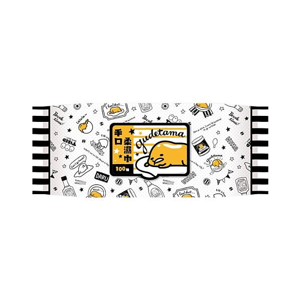 蛋黃哥 手口柔濕巾 100抽(加蓋)【新高橋藥妝】濕紙巾