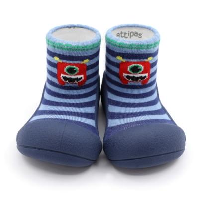 韓國Attipas快樂學步鞋-藍底小怪獸