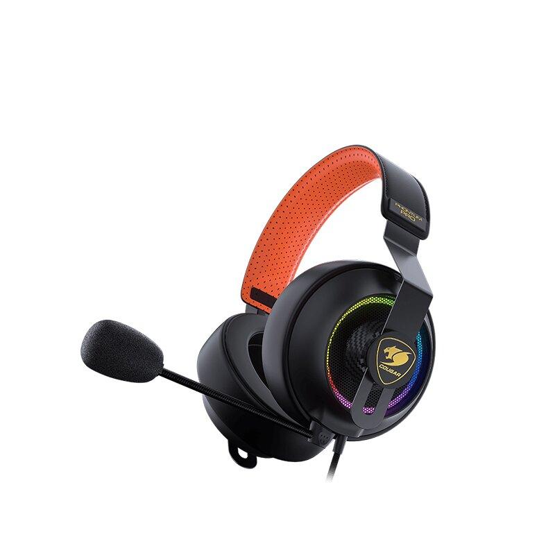 [免運速出] Cougar 美洲獅 PHONTUM RRO 電競耳機 降躁技術 7.1虛擬聲道 線控 RGB燈效
