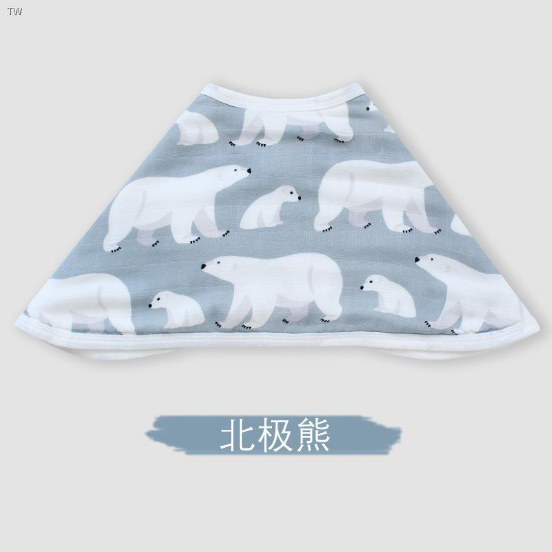 現貨❡嬰兒竹棉墊肩巾拍嗝巾紗布巾寶寶透氣披肩大圍兜新生兒喂奶口水巾