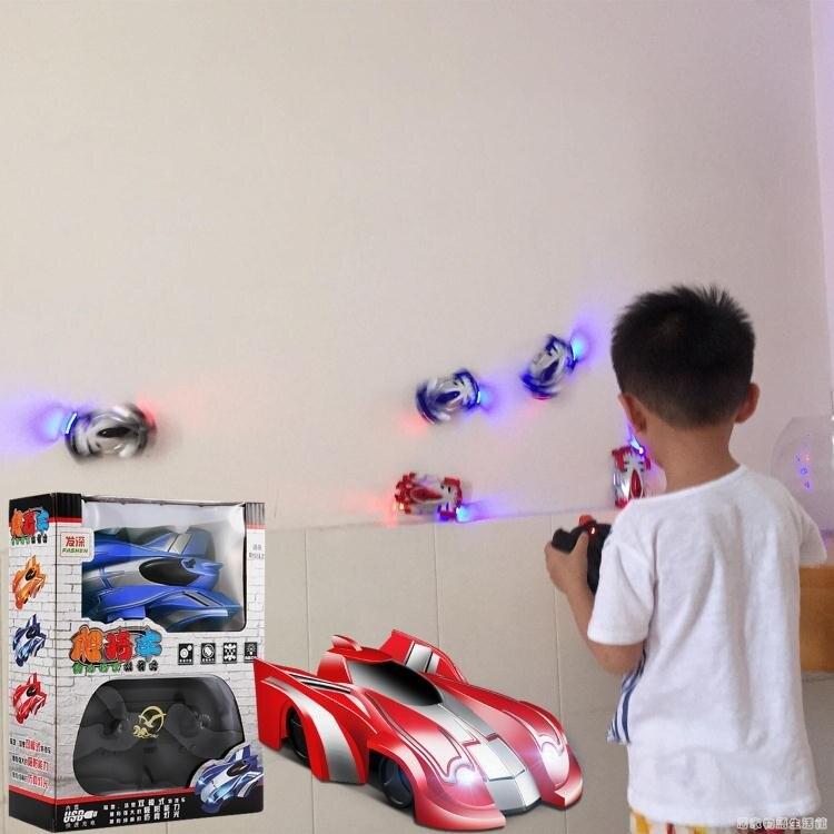 玩具車 爬牆車遙控小汽車玩具攀爬男孩4-5歲電動遙控高速賽車10-12歲[優品生活館]
