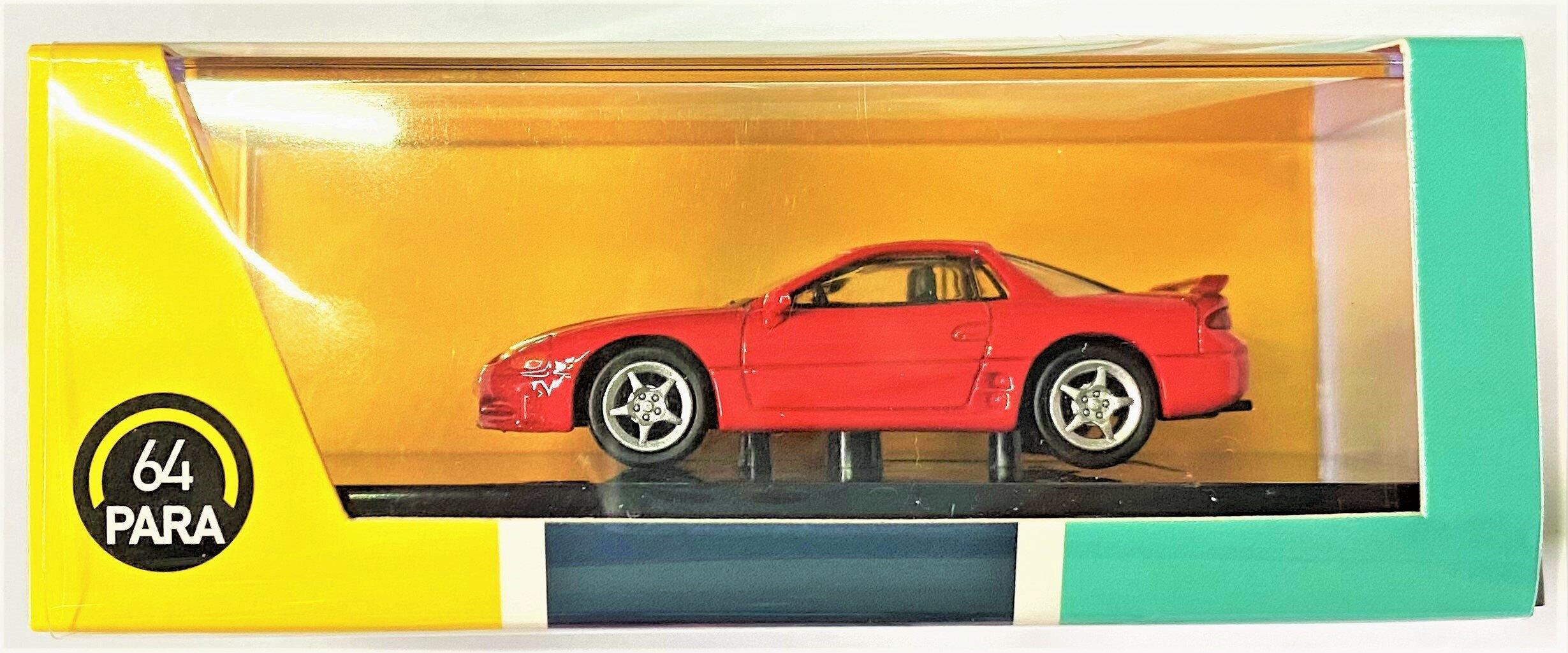 ☆勳寶玩具舖【現貨】PARA64  1/64 三菱 MITSUBISHI  3000GT GTO RED