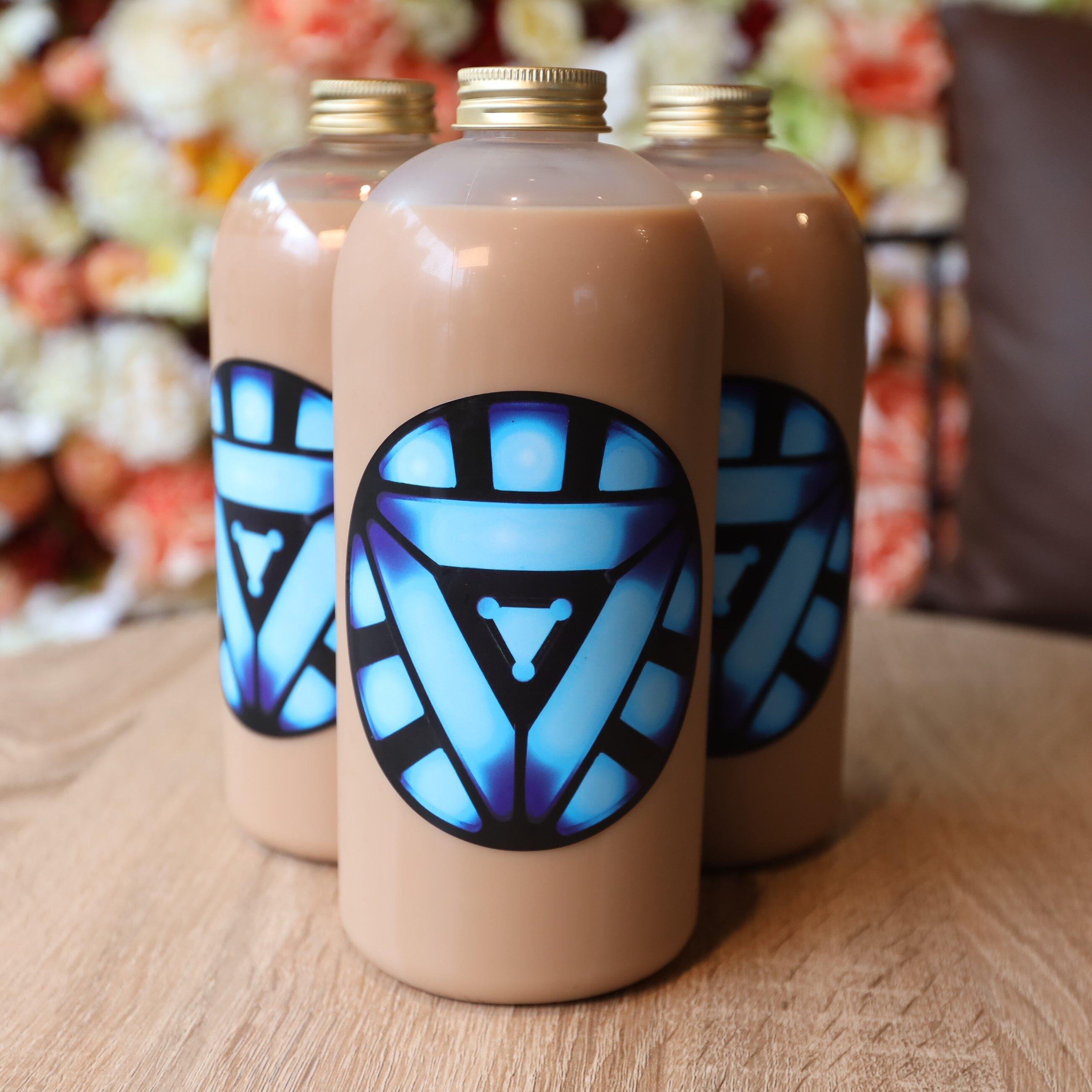 牛奶麻糬(6份)+重味奶茶(500cc/4瓶入)家庭號【幸田屋手做牛奶麻糬】