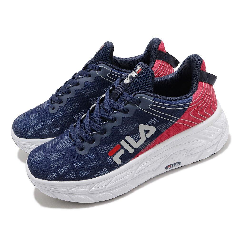 FILA 休閒鞋 J321V 厚底 老爹鞋 男鞋 斐樂 穿搭 緩震 流行 增高 紅 藍 [1J321V135]