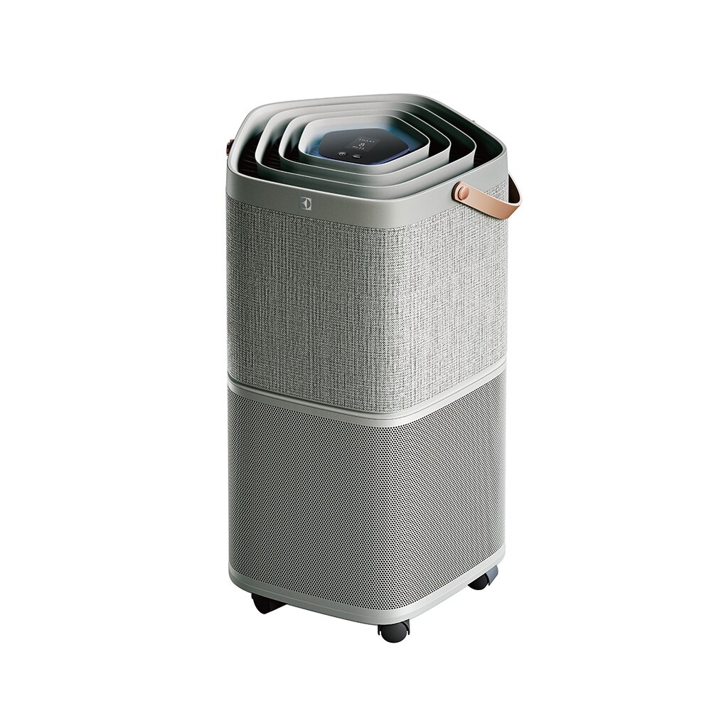 【Electrolux伊萊克斯】9-14坪 Pure A9高效能抗菌空氣清淨機/優雅灰(PA91-406GY)