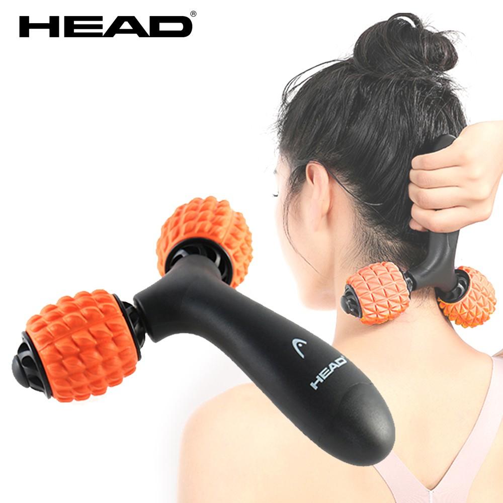 HEAD海德 Y型滾輪按摩器 深層按壓放鬆肌肉舒緩筋膜