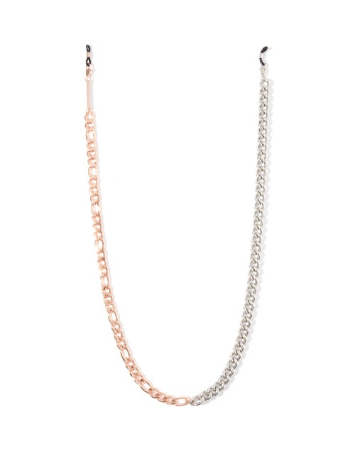 Frame Chain - Mix It Up 18kt Rose-gold Plated Glasses Chain - Womens - Rose Gold