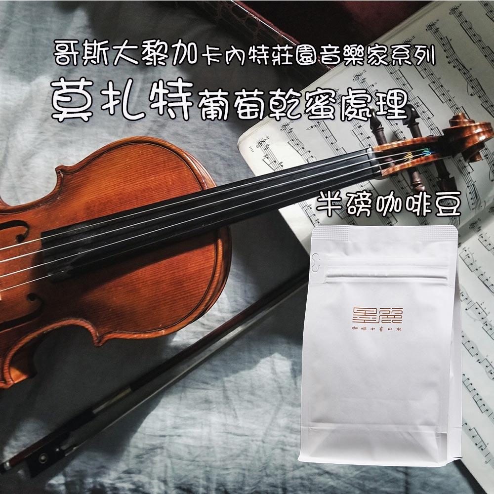 墨麗音樂家莫扎特葡萄乾蜜處理咖啡豆(淺焙)