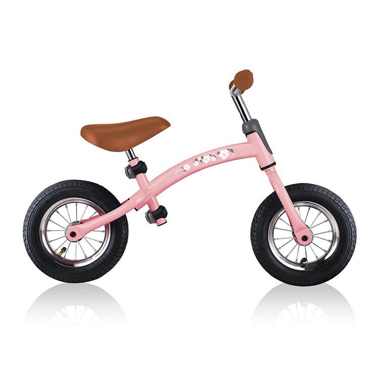 2021最新款 法國 GLOBBER 哥輪步 GO-BIKE AIR 滑步車-櫻花公主粉【淘氣寶寶】