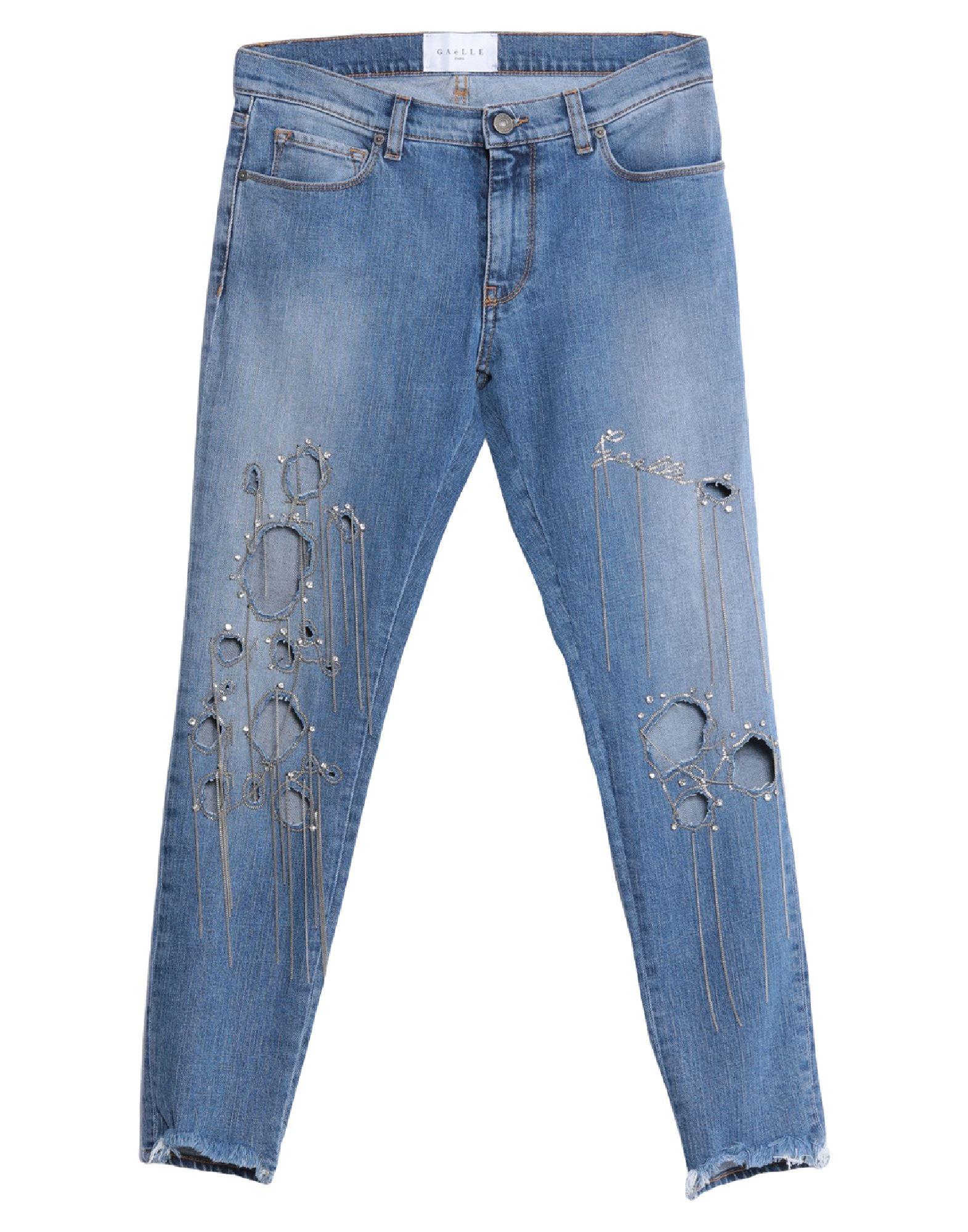 GAëLLE Paris Denim pants - Item 42829939