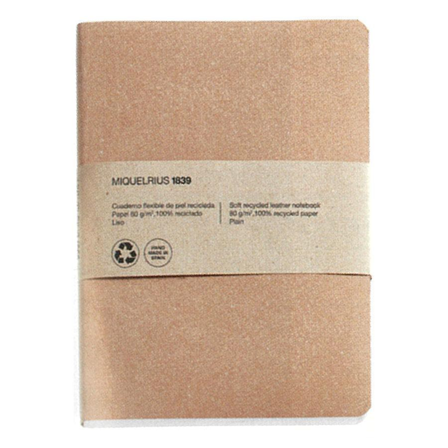 MIQUELRIUS Recycled Notebook/ M/ Craft/ Plain eslite誠品