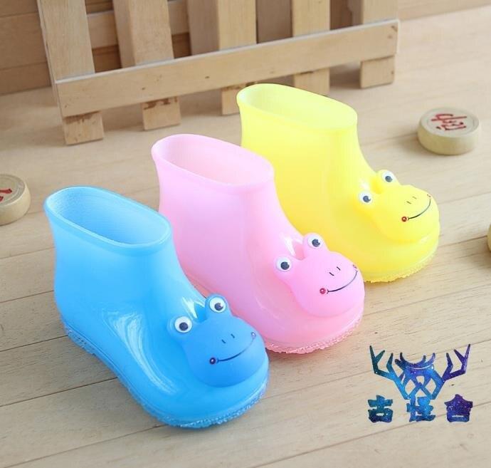 兒童雨靴子雨鞋男女童寶寶水鞋可愛創意小孩叫叫鞋卡通