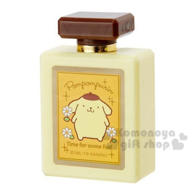 小禮堂 布丁狗 迷你香水瓶造型車用芳香劑《黃棕》3g.香氛.空氣清淨