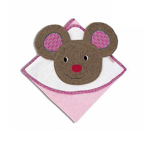 【彌月禮推薦】STERNTALER 梅布爾鼠造型包巾 C-7141401