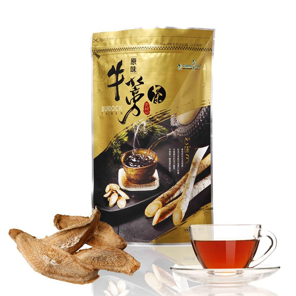 [青玉牛蒡茶] 原味牛蒡茶片 (300g)