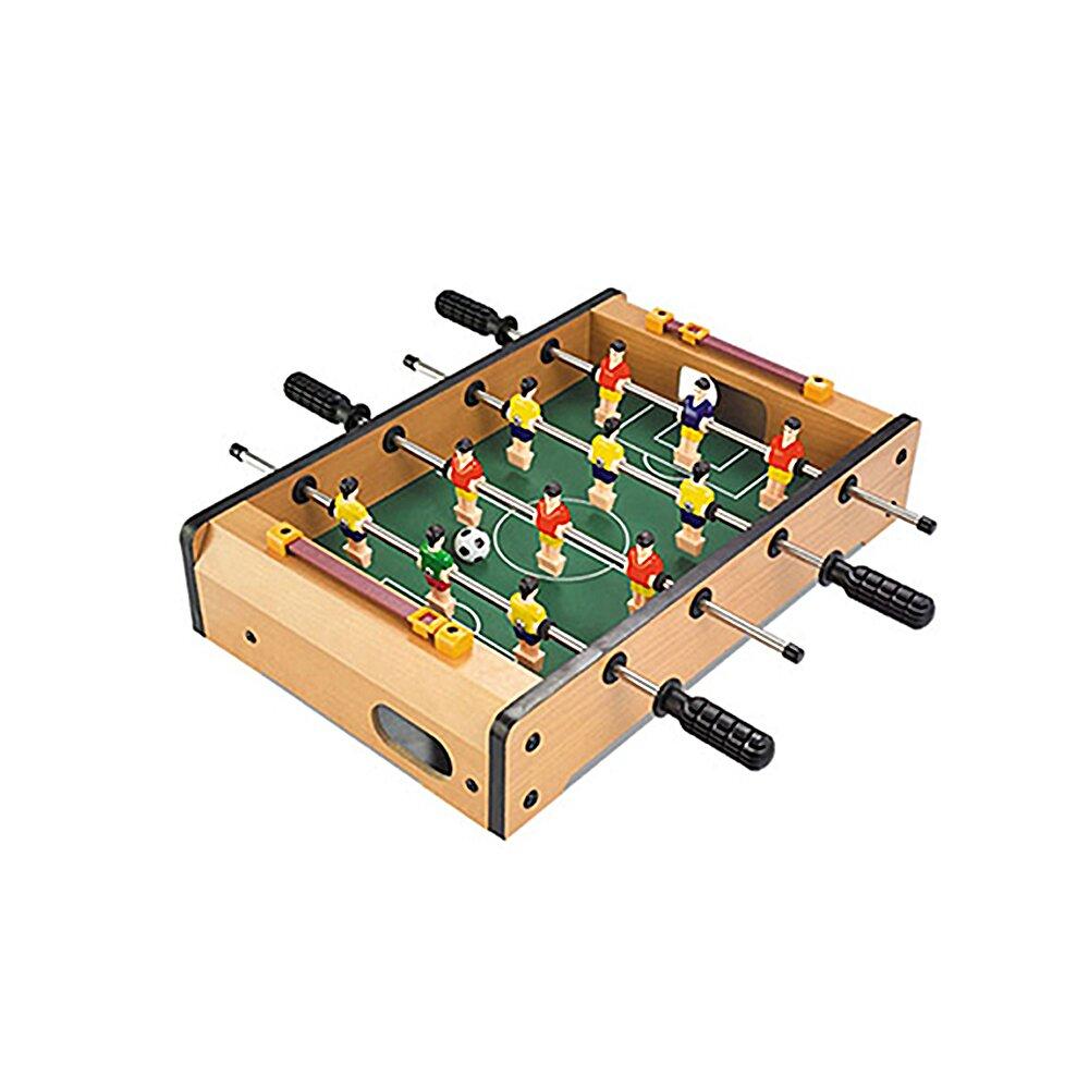 【孩子國】木質桌上型四桿足球台 / 迷你足球台