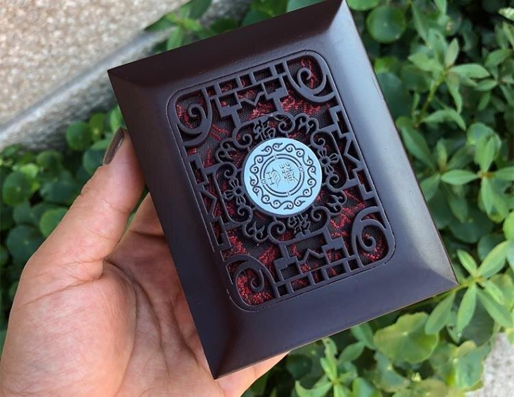 首飾盒 木質珠寶首飾盒 手鍊佛珠手串手鐲項鍊玉器把件吊墜禮品包裝盒子