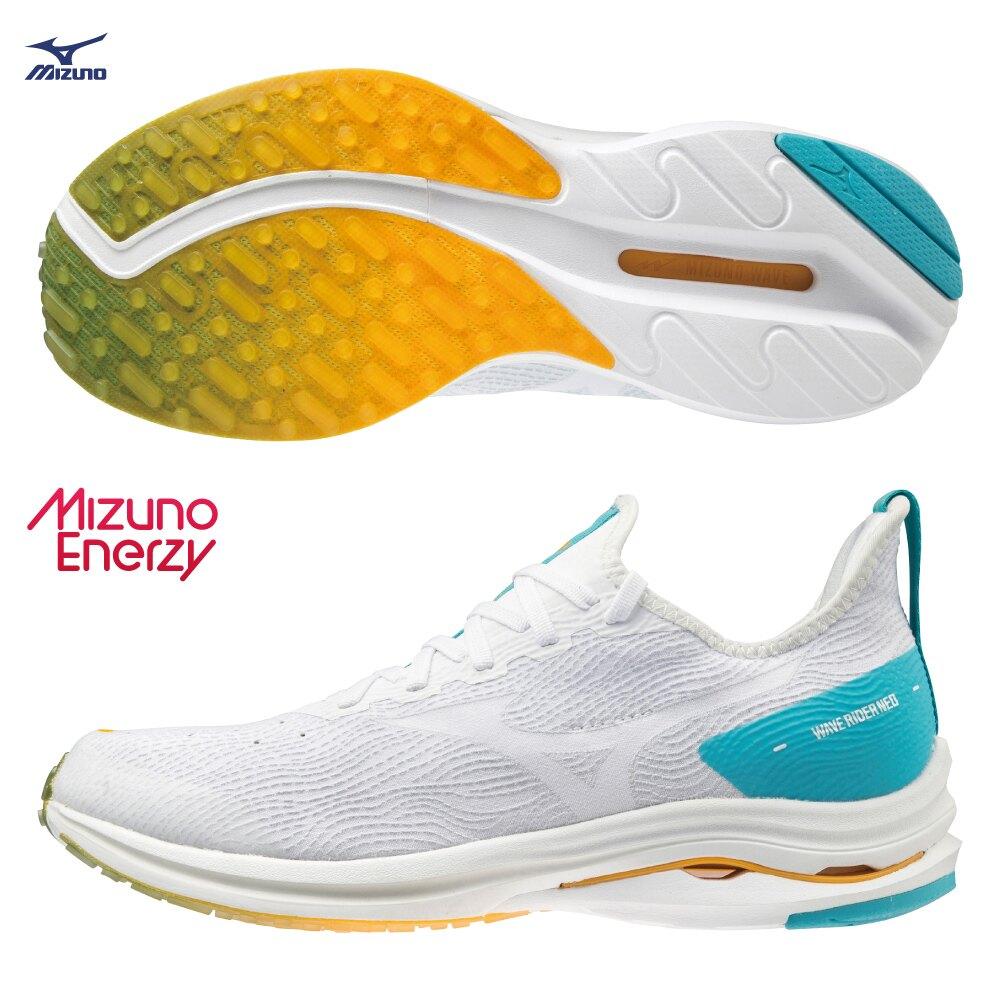 WAVE RIDER 24 NEO 一般型男款慢跑鞋 ENERZY中底材質 J1GC207801【美津濃MIZUNO】
