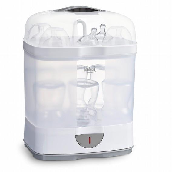 chicco 2合1電子蒸氣消毒鍋 二合一蒸氣式 奶瓶消毒 殺菌 奶瓶消毒鍋 奶嘴消毒