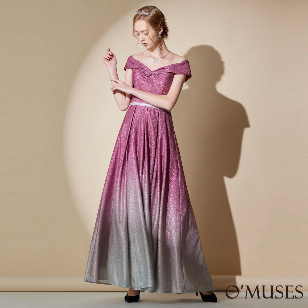 【OMUSES】訂製款長禮服-紫色19-A1921---訂製期30天