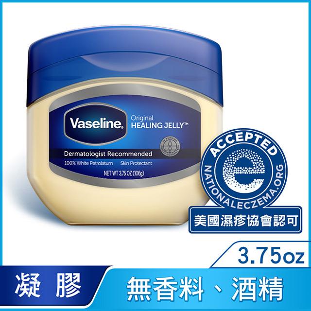 Vaseline凡士林 三重精煉凝膠3.75oz(6入組)