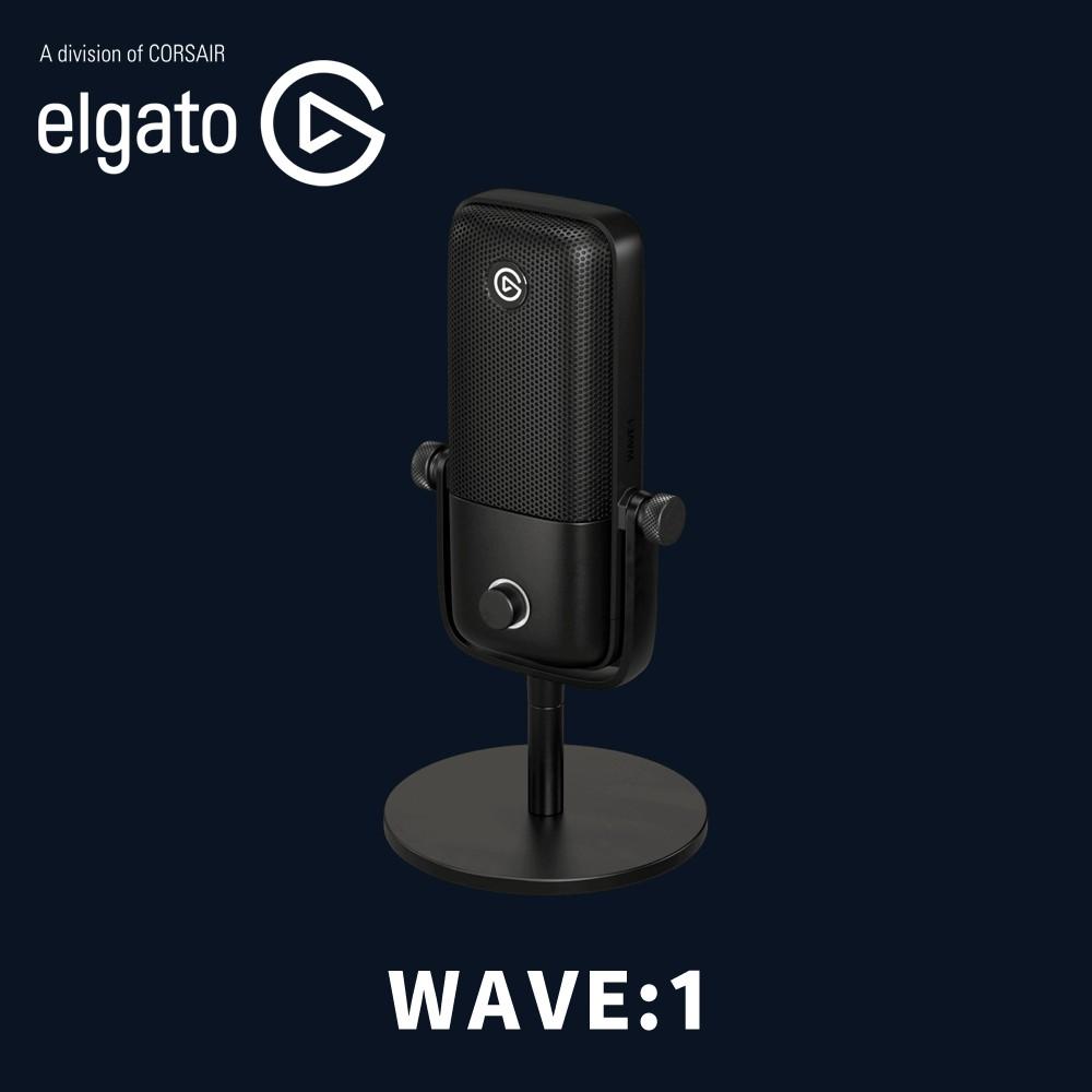 Elgato 官方授權旗艦店 WAVE:1 數位 電容式麥克風 廣播級麥克風