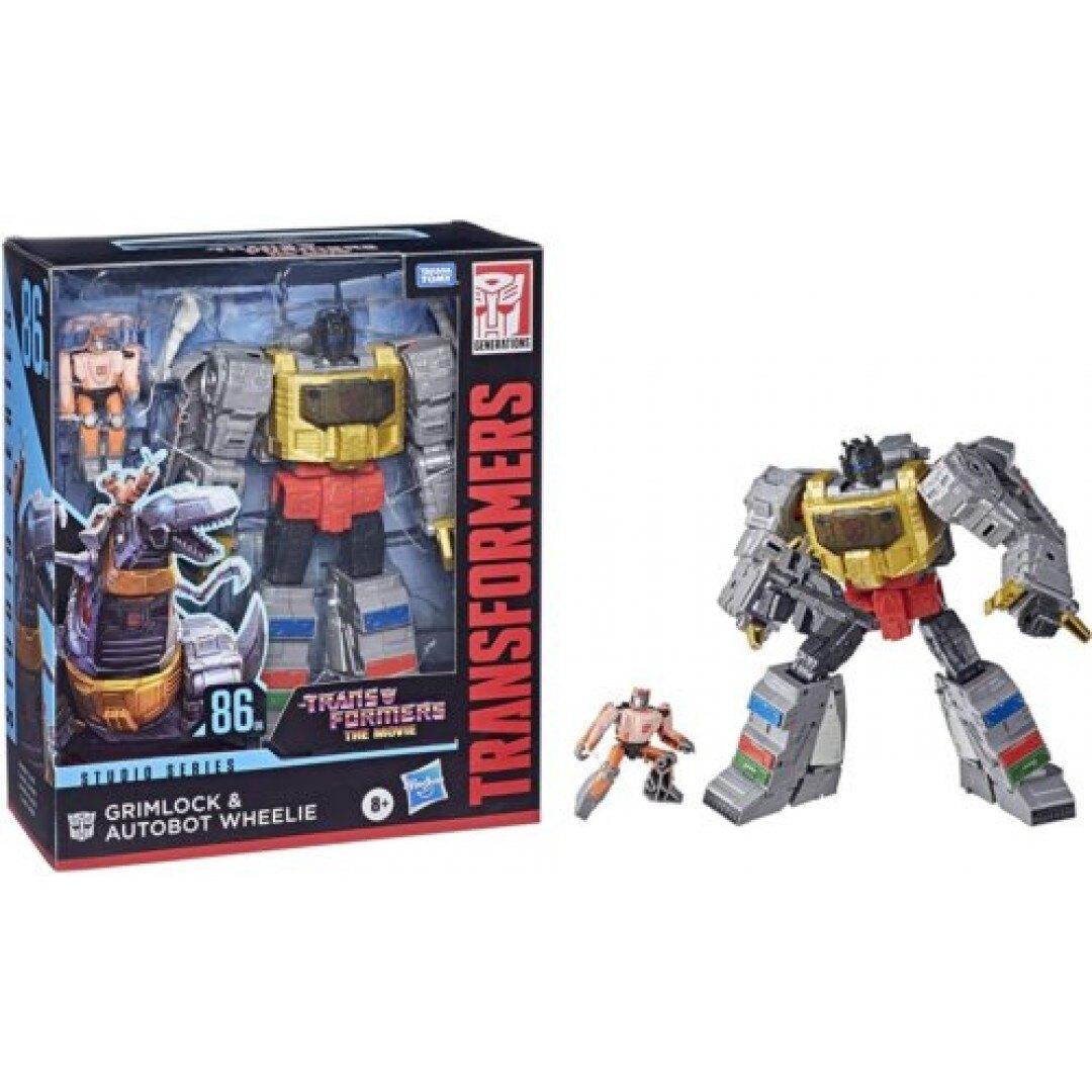 《TRANSFORMERS 變形金剛》世代系列電影版無敵戰將組 Grimlock and Autobot Wheelie 東喬精品百貨