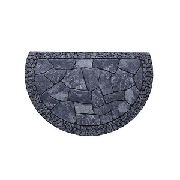 HOLA 波比刮泥墊58x88cm 半圓磚紋