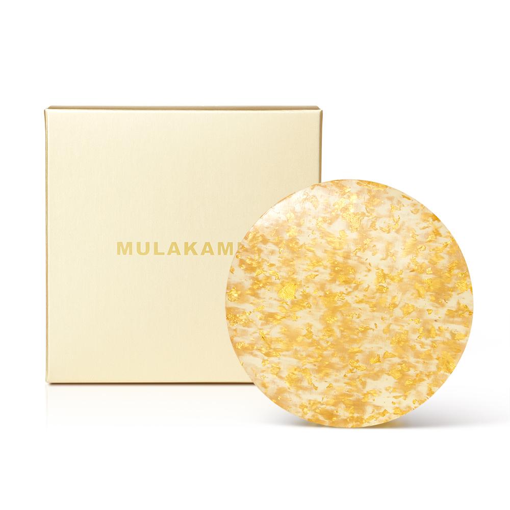 金箔植物精華美容皂 100g
