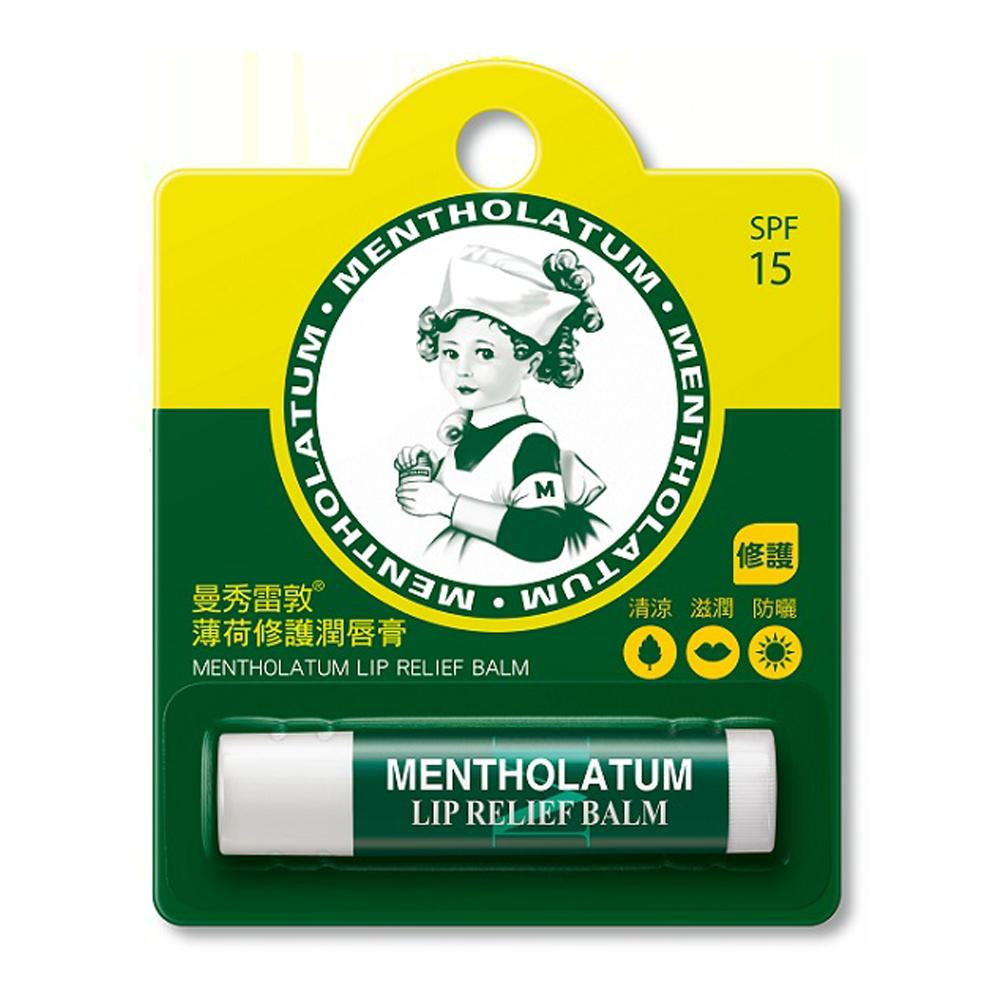 曼秀雷敦【Mentholatum】薄荷修護潤唇膏-3.5g ◆丞陽健康生活館◆