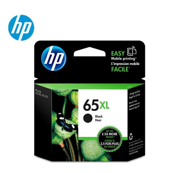 HP N9K04AA 黑色墨水匣 (NO.65XL)