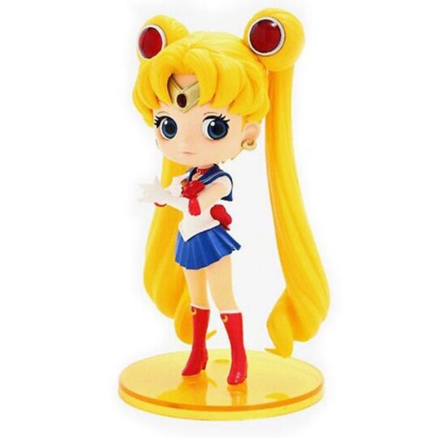小禮堂 美少女戰士 Qposket 模型公仔 塑膠公仔 Qposket公仔 (藍黃 水手服)