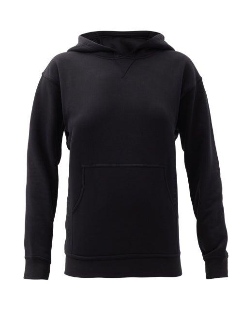 Lululemon - All Yours Cotton-blend Jersey Hooded Sweatshirt - Womens - Black