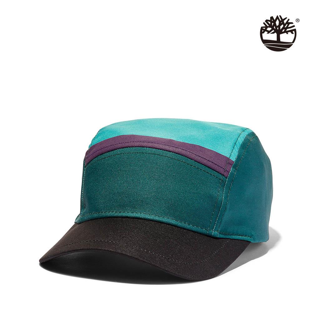 Timberland 中性深西洋綠色塊拼接帽|A1MKYAK1