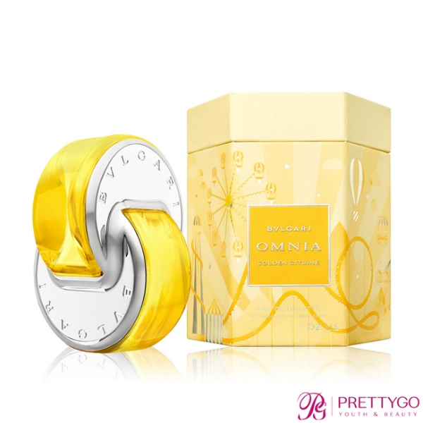 BVLGARI 寶格麗 晶耀2020限量版淡香水 Omnia Golden citrine(40ml) EDT-公司貨【美麗購】