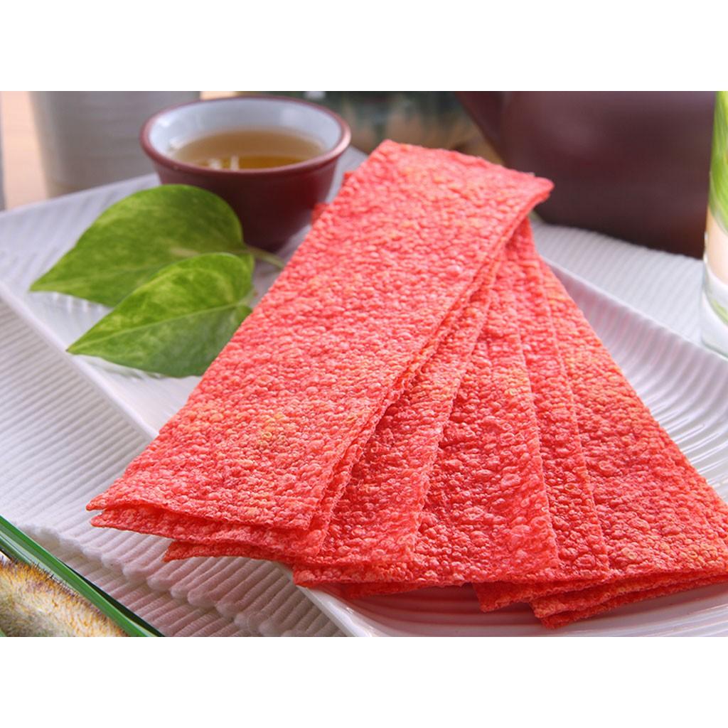 【菓嶺】300g 鱈魚紅片 鱈魚風味紅片 紅片